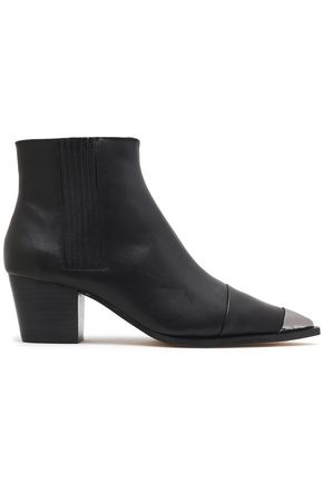 HALSTON HERITAGE Leather ankle boots