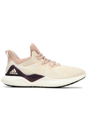 ADIDAS Mesh and stretch-knit sneakers