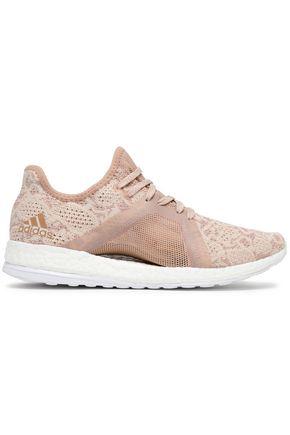 ADIDAS Jacquard-knit sneakers