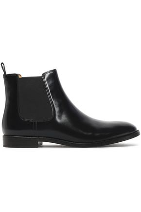 MARC JACOBS Glossed-leather ankle boots