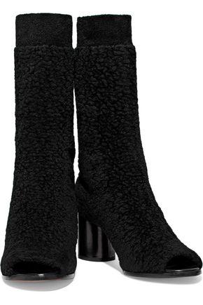 MISSONI Bouclé-knit sock boots
