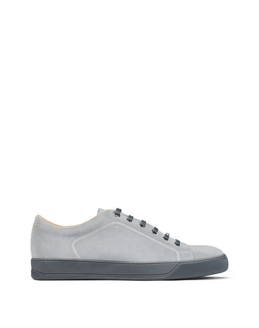 REFLECTIVE MATT LOW-TOP TRAINER - Lanvin
