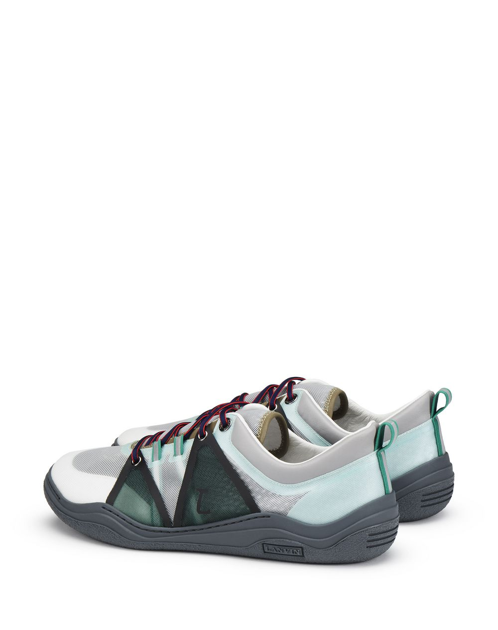 SEMI-TRANSPARENT BLACK AND GRAY DIVING SNEAKER - Lanvin