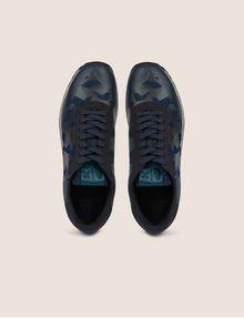 ARMANI EXCHANGE GEO CAMO CONTRAST LOW-TOP SNEAKER Sneakers [*** pickupInStoreShippingNotGuaranteed_info ***] e