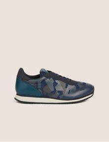 ARMANI EXCHANGE GEO CAMO CONTRAST LOW-TOP SNEAKER Sneakers [*** pickupInStoreShippingNotGuaranteed_info ***] f