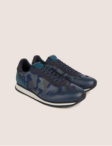 ARMANI EXCHANGE GEO CAMO CONTRAST LOW-TOP SNEAKER Sneakers [*** pickupInStoreShippingNotGuaranteed_info ***] r