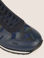 ARMANI EXCHANGE GEO CAMO CONTRAST LOW-TOP SNEAKER Sneakers [*** pickupInStoreShippingNotGuaranteed_info ***] a