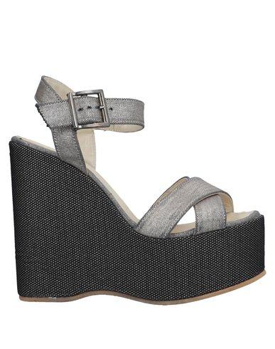 Фото - Женские сандали ESPADRILLES цвет песочный