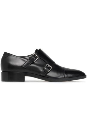GIANVITO ROSSI Buckled leather brogues