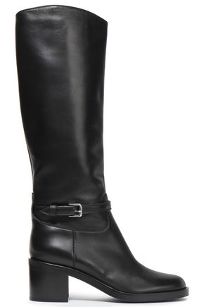 GIANVITO ROSSI Fitz leather boots