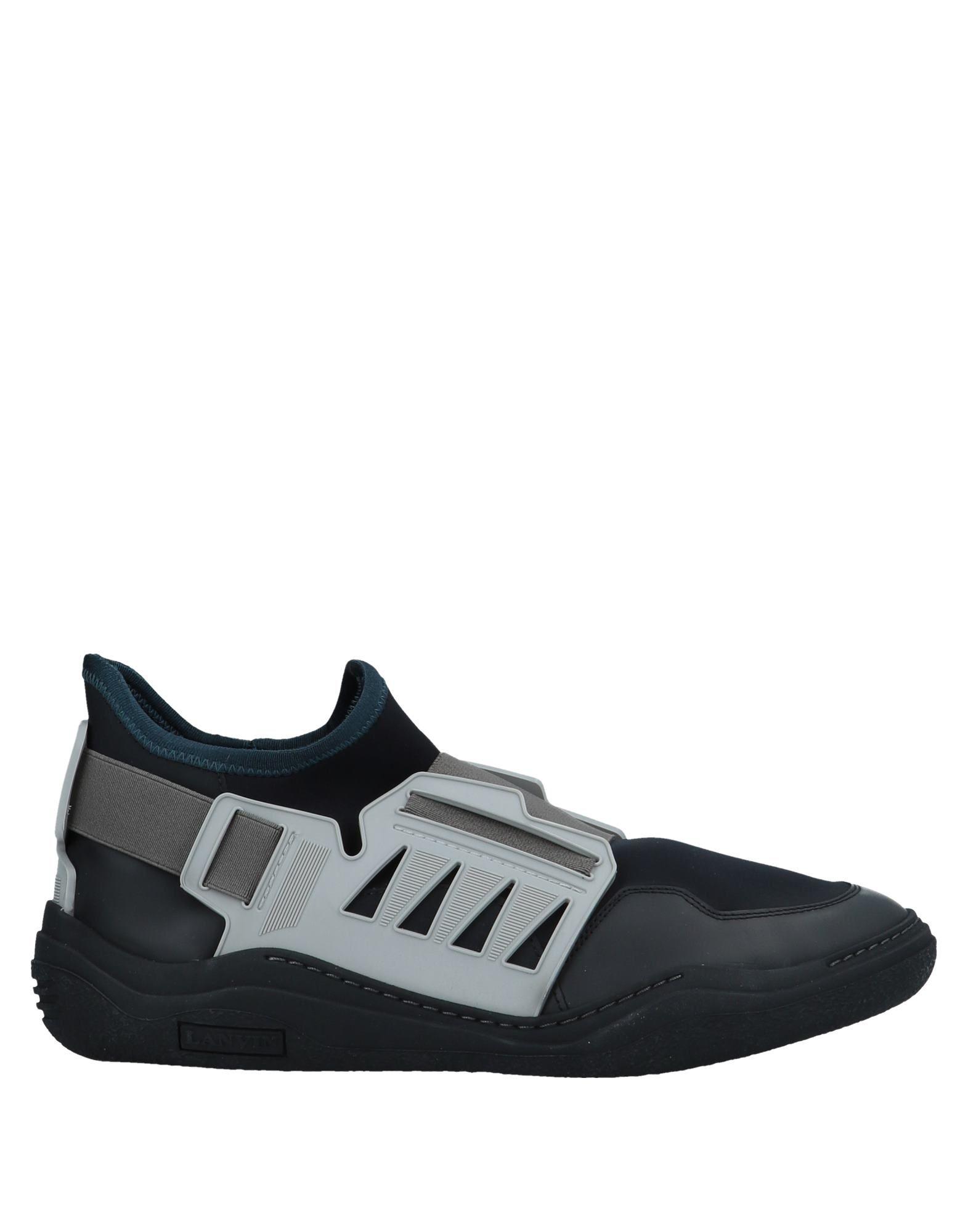 LANVIN Высокие кеды и кроссовки