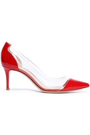 GIANVITO ROSSI Patent-leather and PVC pumps
