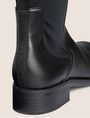 ARMANI EXCHANGE BONDED OVER-THE-KNEE BOOTS Boots Woman e
