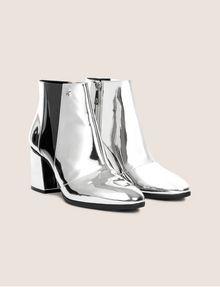 ARMANI EXCHANGE HIGH-SHINE METALLIC BOOT Boots Woman r