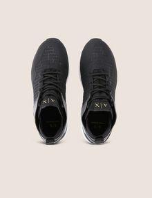 ARMANI EXCHANGE EMBOSSED ALLOVER LOGO SNEAKER Sneakers [*** pickupInStoreShippingNotGuaranteed_info ***] e