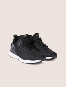 ARMANI EXCHANGE EMBOSSED ALLOVER LOGO SNEAKER Sneakers [*** pickupInStoreShippingNotGuaranteed_info ***] r