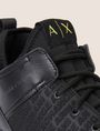 ARMANI EXCHANGE EMBOSSED ALLOVER LOGO SNEAKER Sneakers [*** pickupInStoreShippingNotGuaranteed_info ***] a