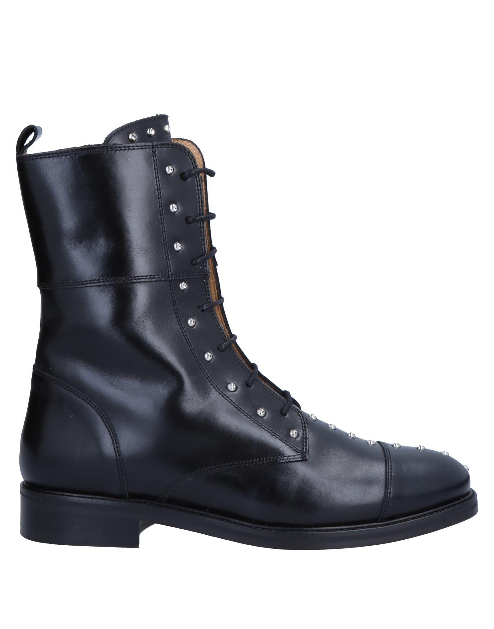 《送料無料》IRO レディース ショートブーツ ブラック 36 革