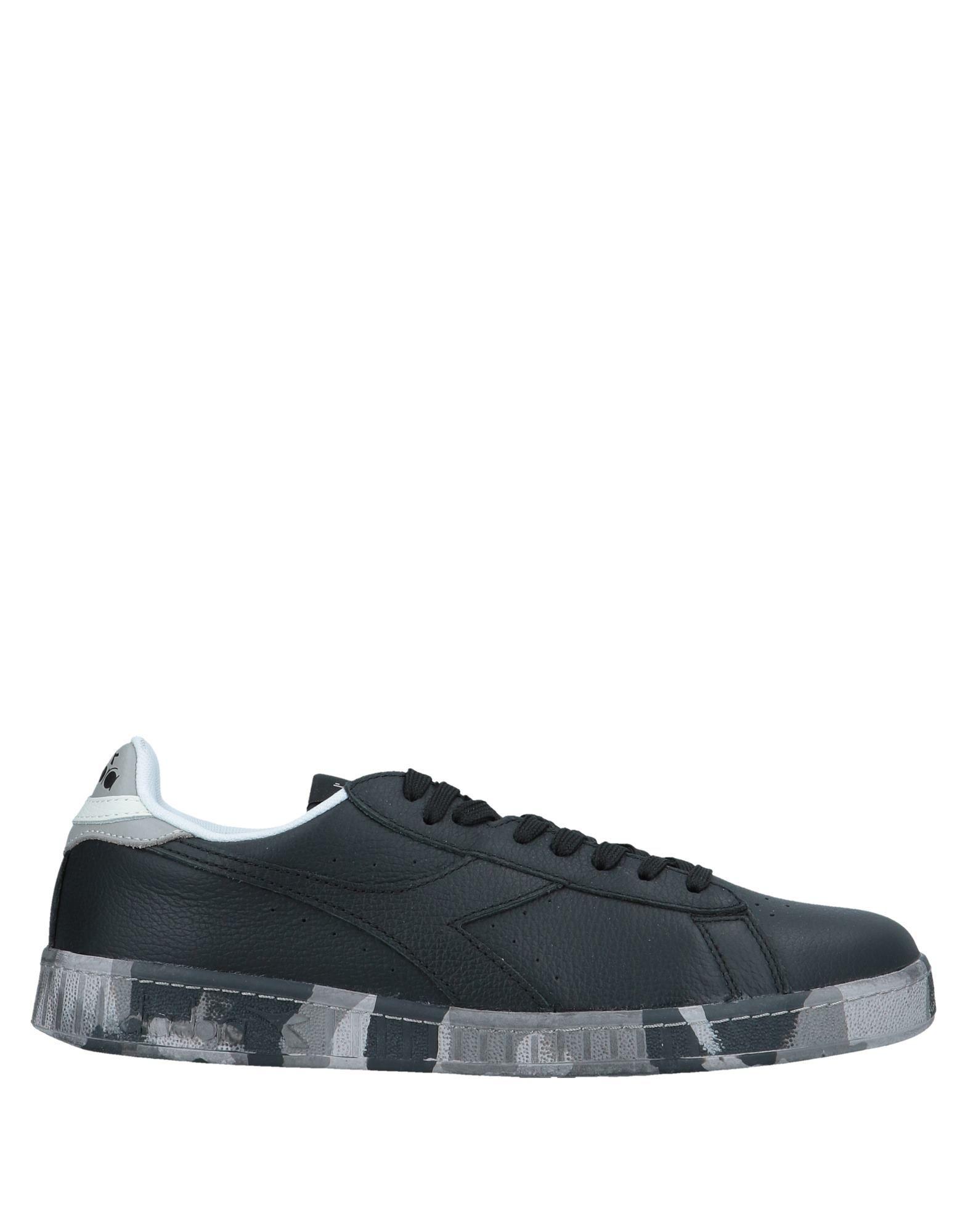 《セール開催中》DIADORA メンズ スニーカー&テニスシューズ(ローカット) ブラック 9 革