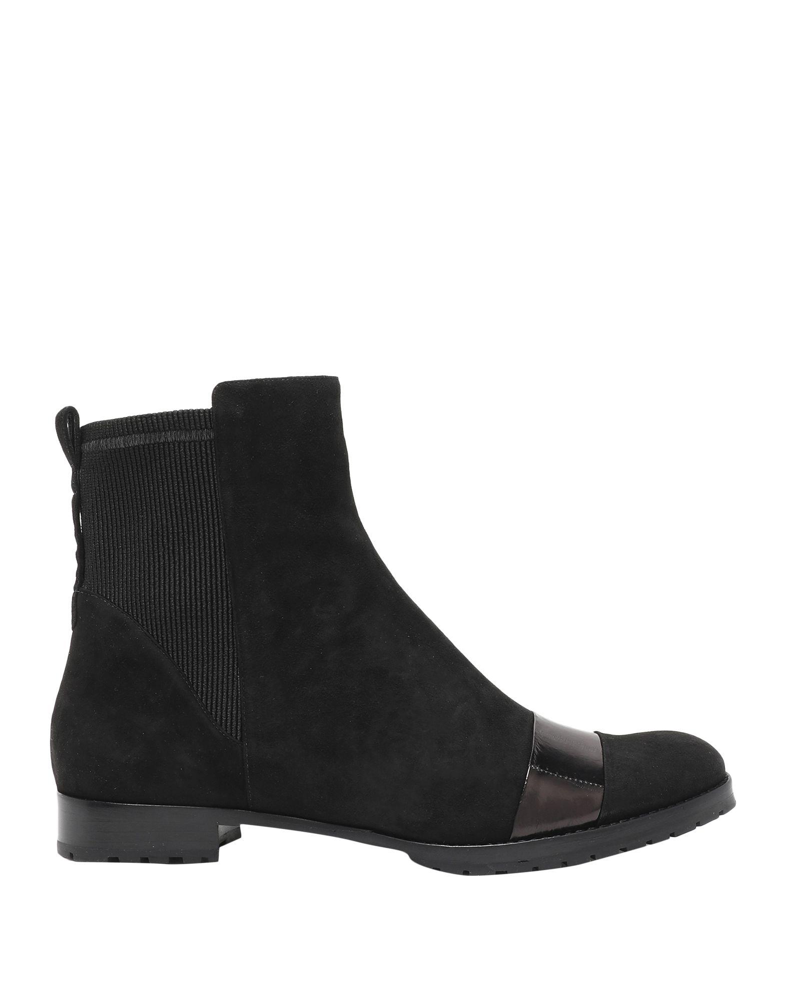 《送料無料》ALEXANDRE BIRMAN レディース ショートブーツ ブラック 36.5 革 / 伸縮繊維