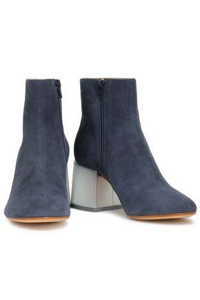 d824482c93bf ... MM6 MAISON MARGIELA Nubuck ankle boots ...