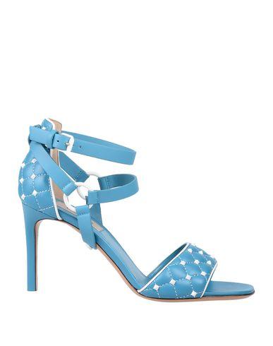 Купить Женские сандали  бирюзового цвета