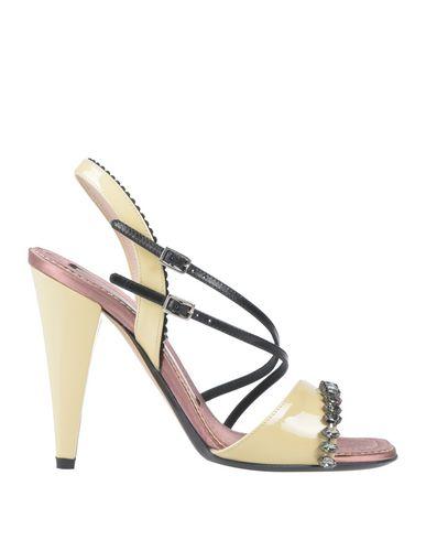 Фото - Женские сандали  цвет слоновая кость