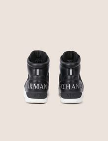 ARMANI EXCHANGE RETRO MESH HIGH-TOP SNEAKER Sneakers [*** pickupInStoreShippingNotGuaranteed_info ***] d