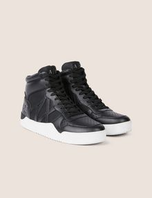 ARMANI EXCHANGE RETRO MESH HIGH-TOP SNEAKER Sneakers [*** pickupInStoreShippingNotGuaranteed_info ***] r