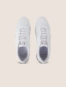 ARMANI EXCHANGE MESH LOGO LOW-TOP SNEAKER Sneakers Man e