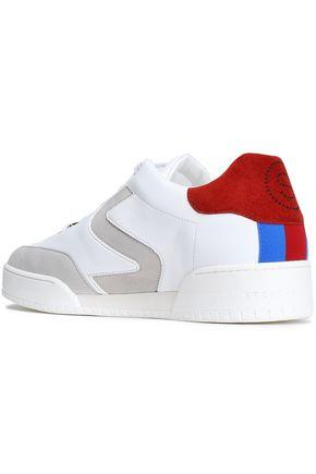 STELLA McCARTNEY Appliquéd faux leather sneakers