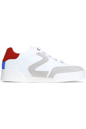 STELLA McCARTNEY Appliquéd faux leather sneakers