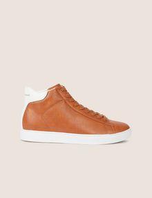ARMANI EXCHANGE LIZARD-EMBOSSED HIGH-TOP SNEAKER Sneakers Man f