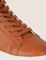 ARMANI EXCHANGE LIZARD-EMBOSSED HIGH-TOP SNEAKER Sneakers Man a