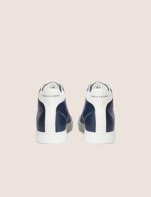 ARMANI EXCHANGE LIZARD-EMBOSSED HIGH-TOP SNEAKER Sneakers Man d