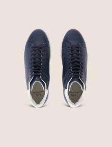 ARMANI EXCHANGE LIZARD-EMBOSSED HIGH-TOP SNEAKER Sneakers Man e
