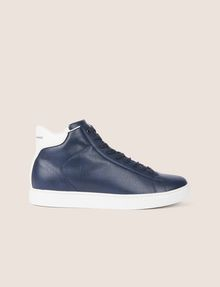 ARMANI EXCHANGE LIZARD-EMBOSSED HIGH-TOP SNEAKER Sneakers Man f