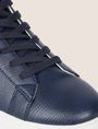 ARMANI EXCHANGE LIZARD-EMBOSSED HIGH-TOP SNEAKER Sneakers Man a