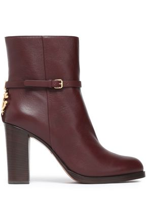 ROBERTO CAVALLI Leather ankle boots