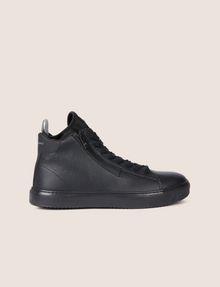 ARMANI EXCHANGE TEXTURED ZIP-UP HIGH-TOP SNEAKER Sneaker Man f