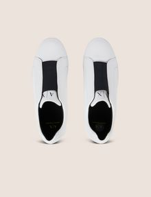 ARMANI EXCHANGE ELASTIC SLIP-ON LOW-TOP SNEAKER Sneaker Man e