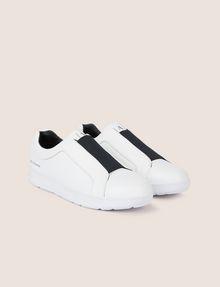 ARMANI EXCHANGE ELASTIC SLIP-ON LOW-TOP SNEAKER Sneaker Man r