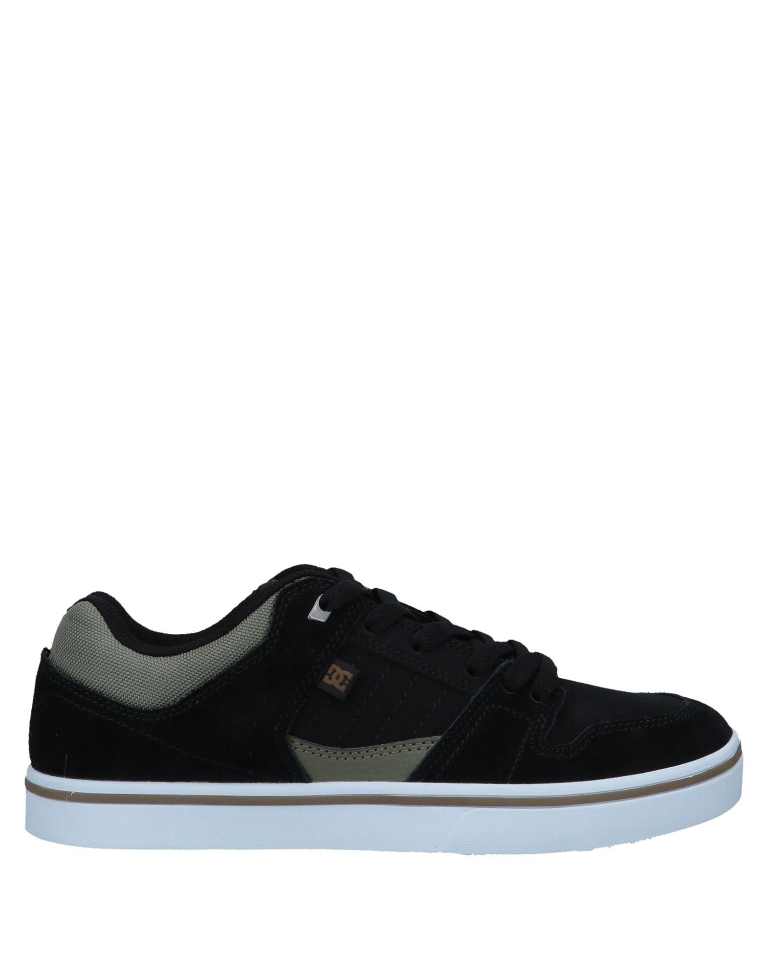 DC SHOECOUSA Низкие кеды и кроссовки кеды кроссовки низкие детские dc pure elastic se blue black white