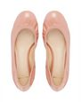 LANVIN Ballerinas Woman CLASSIC BEIGE PATENT LEATHER BALLET FLAT f