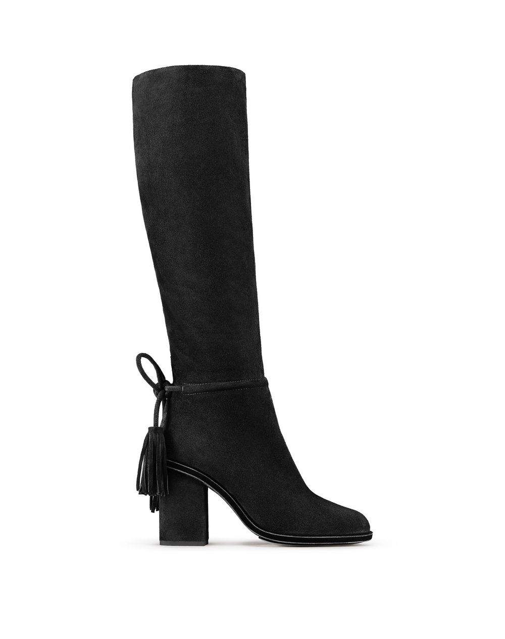 BLACK TASSEL BOOT - Lanvin