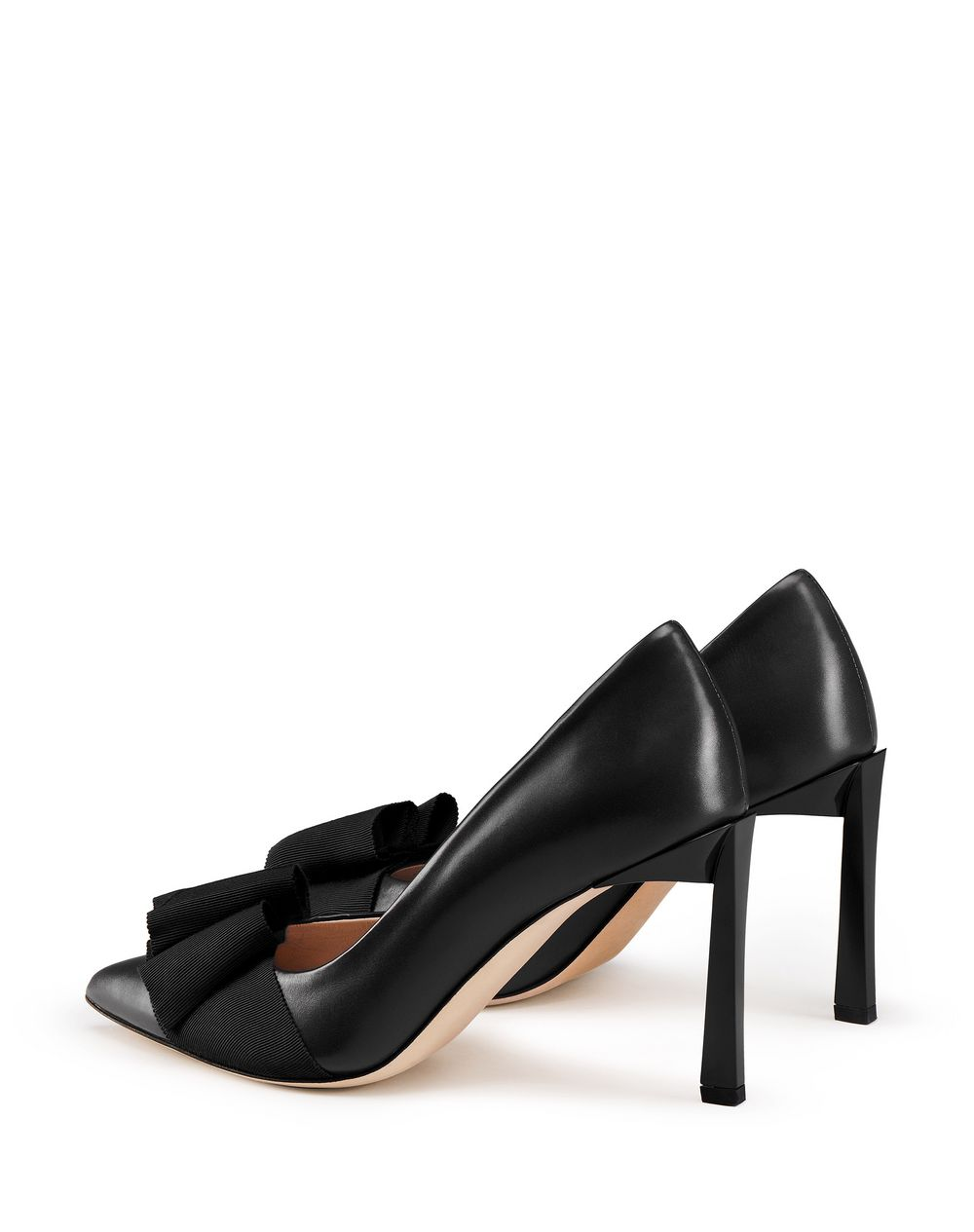 PUMP WITH BLACK BOW - Lanvin