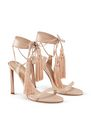 LANVIN Sandals Woman HIGH-HEELED TASSEL SANDAL f