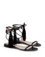 LANVIN Sandals Woman FLAT TASSEL SANDAL f