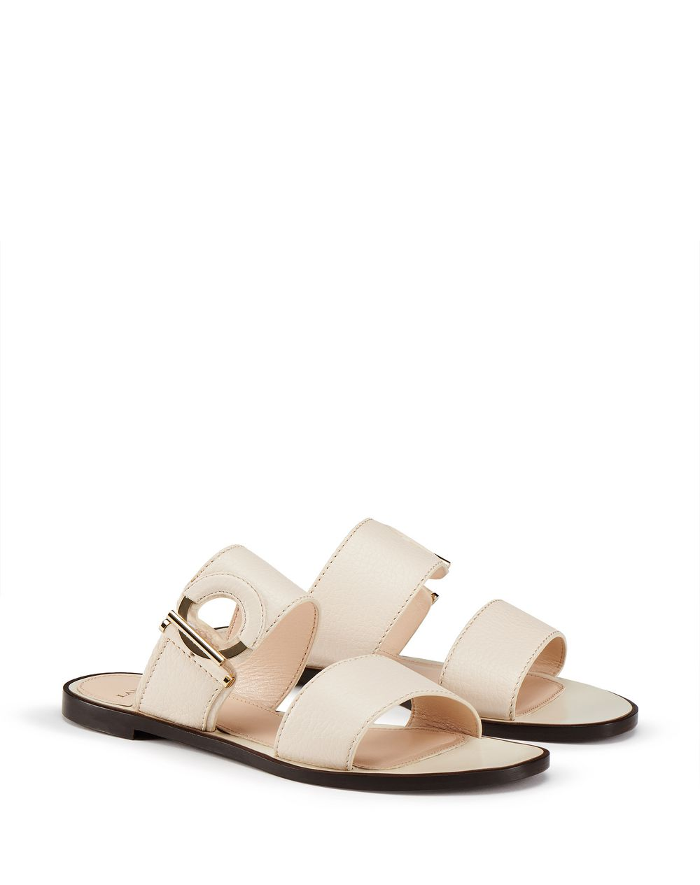 FLAT SANDAL WITH RING  - Lanvin