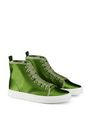 LANVIN Sneakers Woman SATIN HIGH-TOP TRAINER f